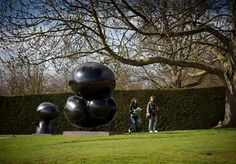Successio -Miro - Yorkshire Sculpture Park Yorkshire Sculpture Park, Galleries, Contemporary Art, Sculptures, Nature, Pictures, Inspiration, Joan Miro, Sculpture