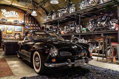 Ultimate Man Cave, Chevrolet Bel Air, Great Places, Men Cave, Barn, Men Stuff, Ringo Starr, Garage Ideas, Deco