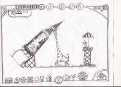 Escena Cinemática/ Puzzle 44/ Plataforma Online Multijugador/ La jirafa y el astronauta.
