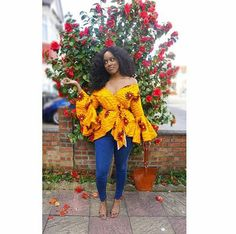 African prints designs and styles seem to be renewed each and everyday as we always see new styles popping up on the internet but we not complaining at all, we actually love and yearn to see all those beautiful designs. It is no doubt that most people go on the internet to stream and search for new African print styles that will help them up their slay game and to also stay in trend. So this week we came across some new gorgeous print styles that we loved and thought of sharing them with you…