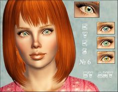 Eyes №6 by Any at Sims 3 Modeli - Sims 3 Finds