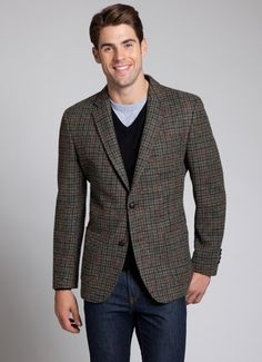 Bonobos The Dunmore Harris Tweed Blazer