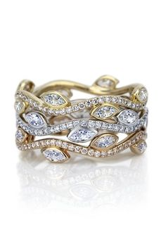 DeBeers Stacks of Sparkle Engagement Ring Ideas (BridesMagazine.co.uk)