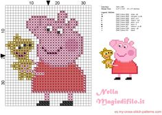 Peppa Pig with stuffed toys