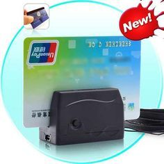 A9. Mini Credit Card Reader - Security - Spy Gadgets R Us - Spy Gadgets in Phoenix, AZ- This Mini Credit Card Reader will store up to 2400 numbers and info! Great for sales on the go! Only $349.95!