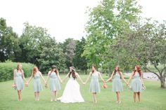 Bridesmaid's Dresses color