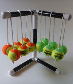 Tennis Ball Kit for Ladder Toss / Ladder Golf / Hillbilly Golf