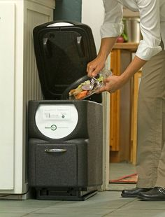 Automatic kitchen composter - this would be a neat addition to a tiny house