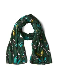 One to Birdwatch Scarf | Mod Retro Vintage Scarves | ModCloth.com