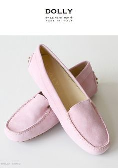 DOLLY by Le Petit Tom ® WOMEN MOCCASINS 3WMO light pink suede