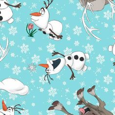 Frozen -Olaf and Sven Toss