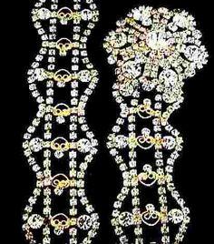 Kenneth J. Lane 'Duchess of Windsor' Jeweled Belt