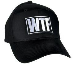 f7b91734e63 WTF Meme Hat Baseball Cap Alternative Clothing What The F ck
