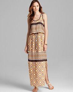 Lengthen your look with this black Karen Kane Maxi Dress ...