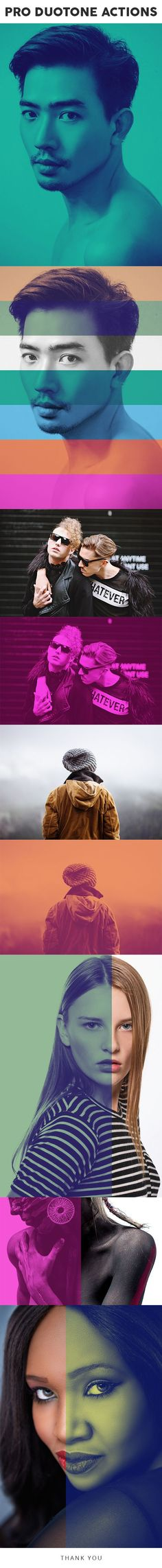Pro DUOTONE Photoshop Actions by ENHANCEPLUS | GraphicRiver
