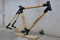 Bamboo Bicycle Frame All Road Bike by LaBambu on Etsy Bamboo Bicycle, Fixed Gear Bicycle, Road Bike, Biking, Frame, Etsy, Picture Frame, Road Racer Bike, Bicycling