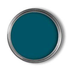 Mooie combi met het oud groen, perfection muurverf mat petrol blue 2,5L | Praxis