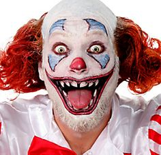 Scary Clown Face Tattoos 12pc                                                                                                                                                                                 More