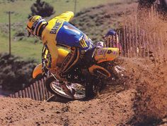 Dang, I almost missed the birthday of one of the baddest dudes ever to sling a leg over a one-two-five. I want to wish a very happy birthday to the Bomber, Mark Barnett. #BadMoFo @dirtbikemag 📷