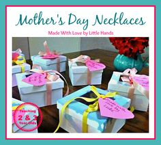 Cute Mother's Day Idea - Teaching 2 and 3 Year Olds