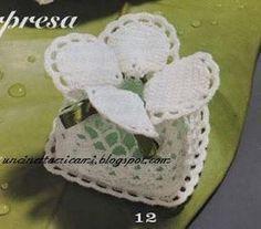 Crochet Wedding Favours, Wedding Favors, Free Crochet, Knit Crochet, Crochet Hats, Cross Stitch Patterns, Crochet Patterns, Bolero Pattern, Crochet Bracelet