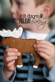 12 awesome holiday baking recipes.