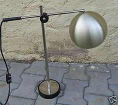 60´s Mid Century BALL Desk Lamp Eames Time