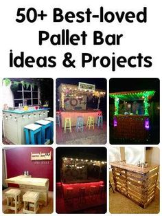 Willing to find something beyond your ideas about reuse and recycling of pallets? Here we have the most creative pallet projects and pallet furniture ideas! Palette Furniture, Twig Furniture, Pallet Bar, Diy Pallet, Pallet Projects, Diy Projects, Pallet Building, Palette Diy, Old Pallets
