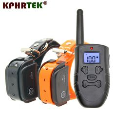 Remote Rechargeable And Waterproof Electronic Dog Training Collar With LCD Display. Support 3 Dogs New Version Online shopping for Electronic Dog Collar with free worldwide shipping Training Collar, Dog Training, Electronic Dog Collars, Buy Pets, Dog Items, Pet Supplies, Dog Lovers, Remote, Puppies