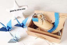 First Baby Shose Gift box baby shower