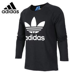Original New Arrival 2017 Adidas Originals Men's T-shirts Long sleeve Sportswear