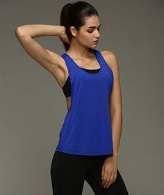 Running Girl Sports Vest Summer Women Tank Tops Fitness Sport Sleeveless Vest Dry Quick Running Loose Gym Singlet Solid Color
