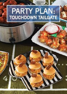 ... Touchdown Mini Meatloaf, Sweet and Spicy Hot Wings, and more