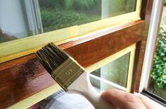 Comment peindre des fenêtres en bois