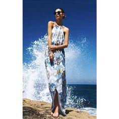 Suboo La Serena Printed Maxi Dress ❤