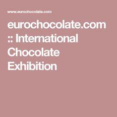 eurochocolate.com :: International Chocolate Exhibition