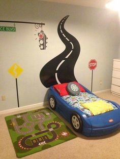 Car theme bedroom                                                       …