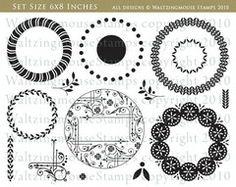 Faux Fun Circles - Nestie friendly