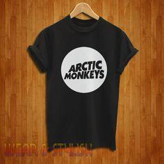 Arctic Monkeys Shirt Arctic Monkeys Tshirt Arctic by wearnstylish, $16.75
