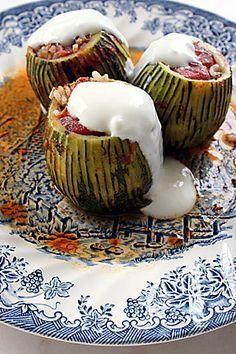 Etli kabak dolması.my favorite turkish food