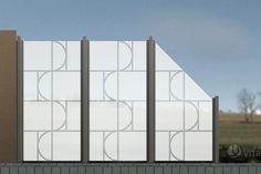 VITRAGO - Glaszäune Online-Shop, Lite-Edition LGP-1604-Z, beidseitige Sandstrahlung
