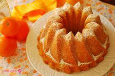 Bundt cake de mandarinas.