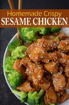 Try this easy, best Chinese takeout style Honey Sesame Chicken recipe. If you love authentic American Asian food, then this fried chicken recipe tossed in sticky sweet honey sauce makes this the best. #sesamechicken #chicken #asian #chinesefood #betterthantakeout