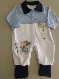 22f761991 Enxovais para Bebês e Moda Infantil - NenêKids. Macacão VermelhoMacacão  MasculinoMacacão BebeManga ...