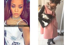 The 24 Best Celebrities, DJs, and Models to Follow on Snapchat: Rihanna | allure.com