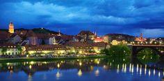 MARIBOR A orillas del río Drava y cerca de la frontera austriaca, Maribor es la segunda ciudad más grande del país tras Ljubljana.