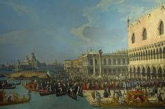 2011.06.18.032 ZURICH - Le Kunsthaus (Musée des Beaux Arts) - Giovanni Antonio Canaletto - place du Palais des Doges à Venise (1730)
