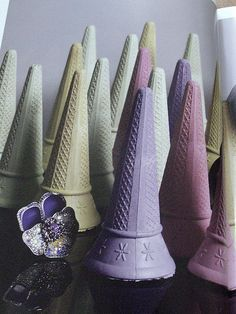 pretty ice cream cones