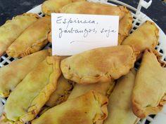 Receta de Empanadillas vegetarianas al horno