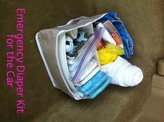 I would say that around 75% of the time, I leave the house with a well stocked diaper bag.